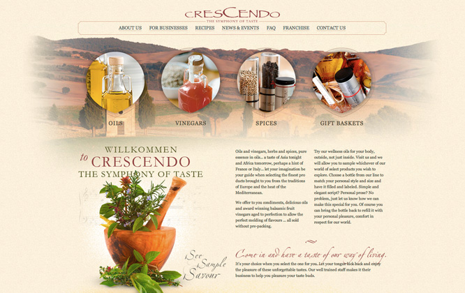 The Crescendo Canada by Rev Software Ltd.